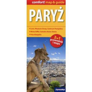 Paryż 2w1 przewodnik i mapa XL
