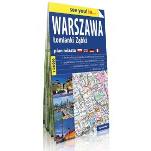 Mapa Warszawa Łomianki Ząbki