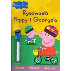 Świnka Peppa. Rysowanki Peppy i George'a