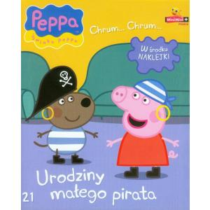 Świnka Peppa Urodziny małego pirata