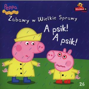 Świnka Peppa Zabawy w wielkie sprawy A psik! A psik!