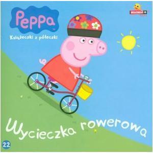 Świnka Peppa Wycieczka rowerowa