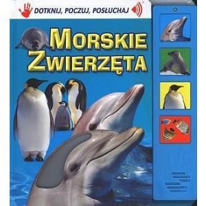 Morskie zwierzęta. Książeczka dźwiękowa