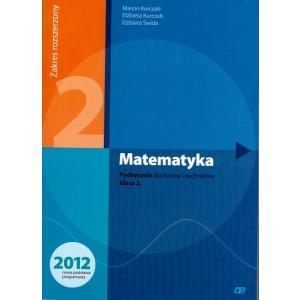 Matematyka 2. Podręcznik. Klasa 2. Liceum i Technikum. Zakres Rozszerzony