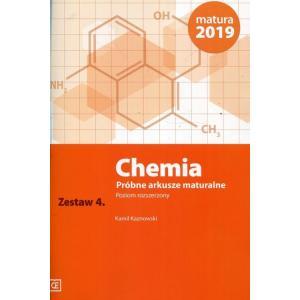 Chemia. Próbne Arkusze Maturalne. Zestaw 4. Poziom Rozszerzony