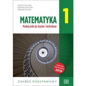 Matematyka 1.  Podręcznik. Zakres Podstawowy. Klasa 1. Liceum i Technikum