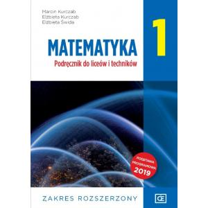 Matematyka 1. Liceum i technikum klasa 1. Podręcznik. Zakres rozszerzony