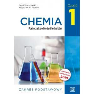 Chemia. Liceum i technikum. Podręcznik część 1. Zakres podstawowy