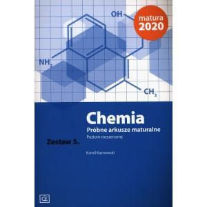 Chemia. Próbne arkusze maturalne. Zestaw 5. Poziom rozszerzony