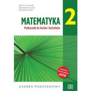 Matematyka 2. Liceum i technikum klasa 2. Podręcznik. Zakres podstawowy