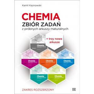 Chemia. Zbiór zadań z próbnych arkuszy maturalnych. 1115 zadań. Poziom rozszerzony