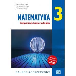 Matematyka 3. Liceum i technikum klasa 3. Podręcznik. Zakres rozszerzony