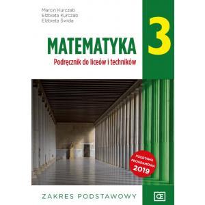 Matematyka 3. Liceum i technikum klasa 3. Podręcznik. Zakres podstawowy