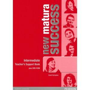 New Matura Success Intermediate.   Książka Nauczyciela + DVD