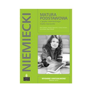 Matura Podstawowa z Języka Niemieckiego.   Książka Nauczyciela + 3 Płyty CD. Matura 2012