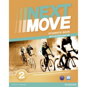 Next Move 2. Podręcznik + Exam Trainer A1-A2 + MyEnglishLab