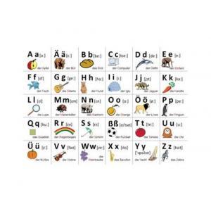 Plansze Edukacyjne - Alfabet Języka Niemieckiego