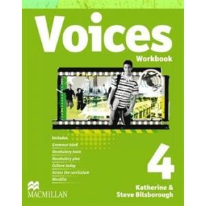 Voices 4. Ćwiczenia + CD