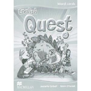 English Quest 3. Word Cards