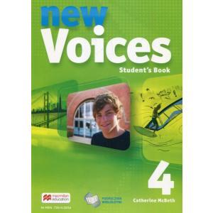 New Voices 4. Podręcznik Wieloletni