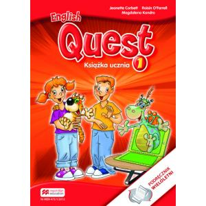 English Quest 1. Podręcznik Wieloletni