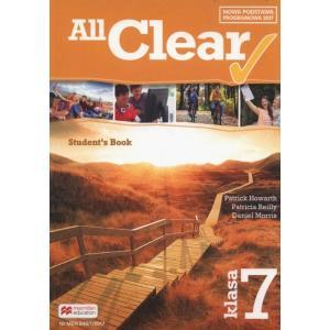 All Clear. Podręcznik Wieloletni. Klasa 7. Szkoła Podstawowa