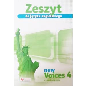 New Voices 4. Zeszyt Przedmiotowy do Podręcznika Wieloletniego