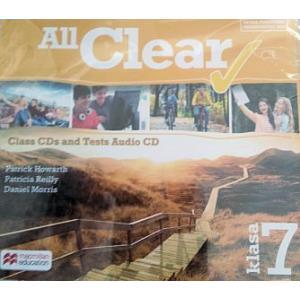 All Clear. CD do Podręcznika. Klasa 7. Szkoła Podstawowa