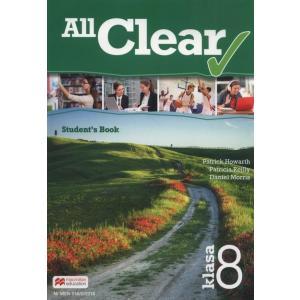 All Clear. Podręcznik Wieloletni. Klasa 8. Szkoła Podstawowa