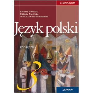 Język Polski 3. Podręcznik. Klasa 3. Gimnazjum