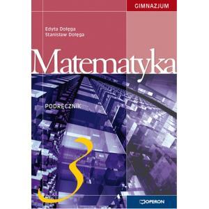 Matematyka 3. Podręcznik. Klasa 3. Gimnazjum