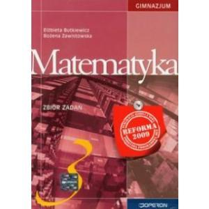 Matematyka 3. Zbiór Zadań. Klasa 3. Gimnazjum