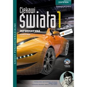 Ciekawi Świata Informatyka 1 ZR Szkoła Ponadgimnazjalna podręcznik + CD 2012