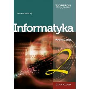 Informatyka 2. Podręcznik + CD. Klasa 1-3. Gimnazjum