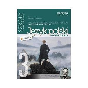 Odkrywamy na nowo Język polski Liceum 3 podręcznik kszt.kult-liter i językowe zakres P + R 2013