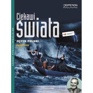Ciekawi Świata.  Język Polski 3. Podręcznik. Szkoła Ponadgimnazjalna. Zakres Podstawowy i Rozszerzony