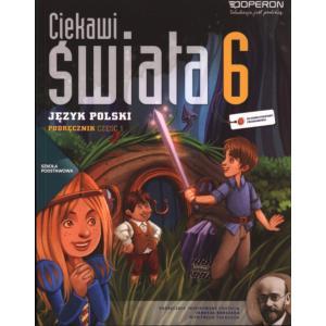 Język Polski. Ciekawi Świata. Podręcznik. Klasa 6 Część 1. Szkoła Podstawowa