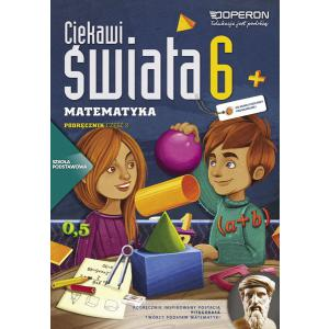 Matematyka. Ciekawi Świata. Podręcznik. Klasa 6 Część 2. Szkoła Podstawowa