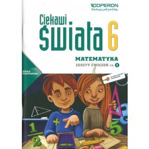 Matematyka. Ciekawi Świata. Ćwiczenia. Klasa 6 Część 1. Szkoła Podstawowa