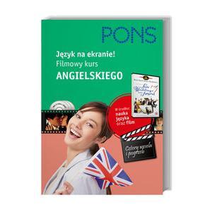 Język na Ekranie! Filmowy Kurs Angielskiego + DVD (Pełna Wersja Filmu Cztery Wesela i Pogrzeb)