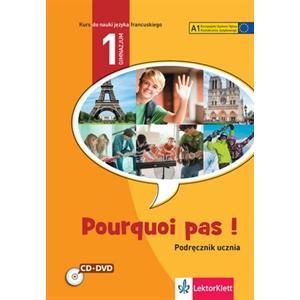 Pourquoi Pas! PL 1 podręcznik +CD+DVD