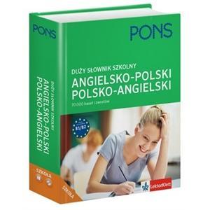 Duży Słownik Szkolny Angielsko-Polsko-Angielski + CD