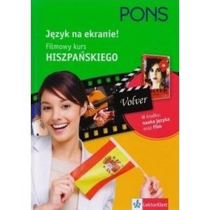 PONS Język na ekranie! Filmowy kurs hiszpańskiego +DVD