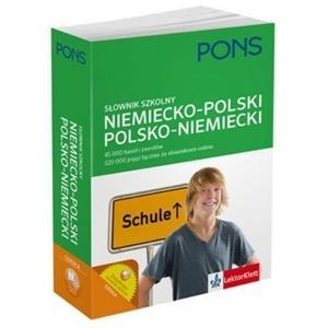 PONS Słownik Szkolny niemiecko-polski-niemiecki