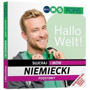 PONS Niemiecki Słuchaj i mów Podstawy wyd.3