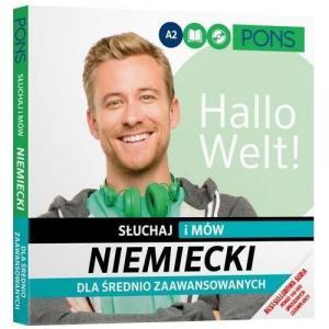 PONS Niemiecki Słuchaj i mów dla średnio zaawansowanych wyd.2
