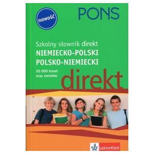 Szkolny Słownik Direkt Niemiecko-Polski Polsko-Niemiecki