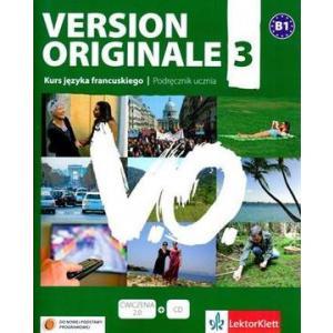 Version Originale 3 Podręcznik +CD