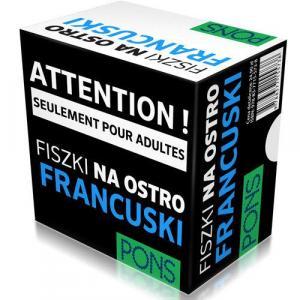PONS Francuski - Fiszki - 333 słowa na ostro