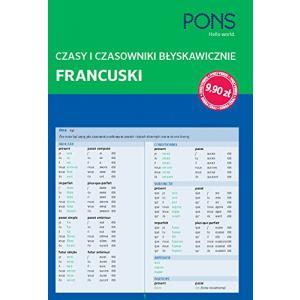 PONS Francuski - Czasy i czasowniki błyskawiczne Mini